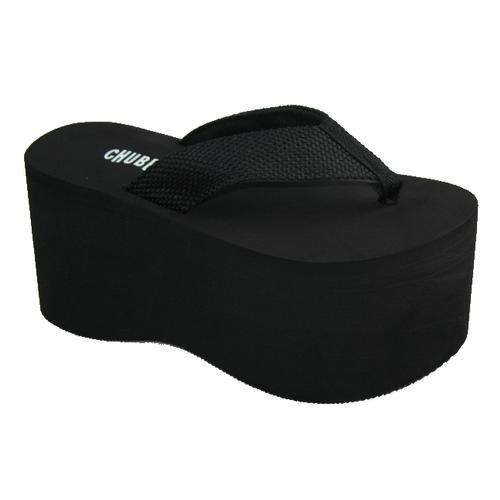 black-flip-flops