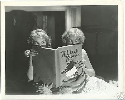 halloween vintage movie still